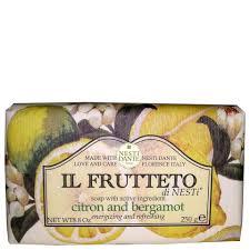 Натуральное <b>мыло</b> «Лимон и бергамот» Nesti Dante <b>Il Frutteto</b> ...