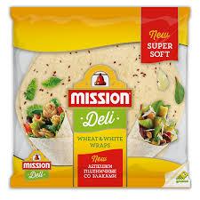 <b>Пшеничные лепешки со</b> злаками <b>Mission</b> - Delicados