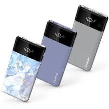 IDEAPLAY K10 3 PCS per Pack 10000mAh Power Bank Dual USB ...