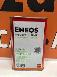 <b>Масло моторное Eneos Premium</b> Touring 5W-30 синт. API SN/RC 4л