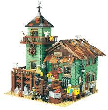 The Old Finishing Store 2049 Pcs <b>Model building kits compatible</b> ...