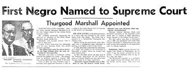「Thurgood Marshall US Supreme Court」の画像検索結果