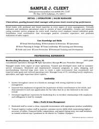 job resume retail manager examples skills samples operations and job resume retail manager examples skills samples operations and s description