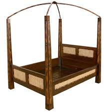 bamboo wood canopy bed 02 bamboo wood furniture