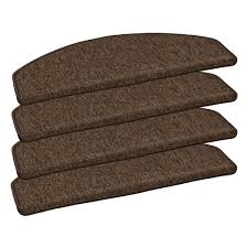 [Bundle] Set of <b>15 stair mats staircase mat</b> sling brown 24 cm x 65 ...
