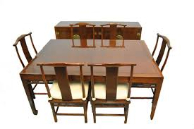 Chinese Dining Room Table Asian Style Dining Room Table With Six Chairs Kate Madison