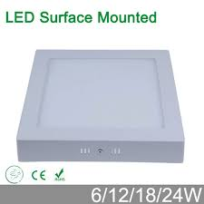 High brightness no cut 6W 12W 18W 24W <b>surface mounted LED</b> ...