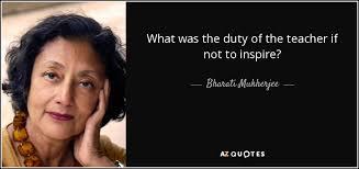 TOP 25 QUOTES BY BHARATI MUKHERJEE   A-Z Quotes via Relatably.com