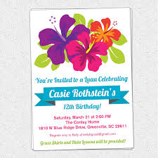 luau invitation templates com invitation templates hawaiian birthday images about th birthday luau on