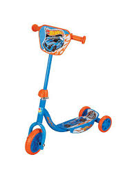"<b>Самокат</b> Hot wheels 3-хкол. EVA 6""/4"", декор.панель <b>1Toy</b> ..."