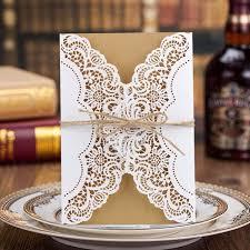 <b>Ourwarm</b> Luxury Laser Cut Wedding Invitations Cards Envelope ...