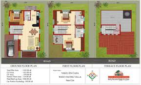 X Duplex House Plan  Bedroom Duplex House Plans India   VAline X Duplex House Plan