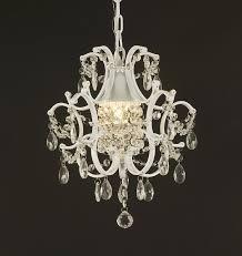 jac dlights j10 5921 wrought iron crystal chandelier 14x11x1 inch white amazoncom cheap chandelier lighting