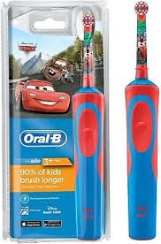 <b>Oral</b>-<b>B</b> Stages Power <b>Vitality</b> Disney <b>CARS</b> Electric Rechargeable ...
