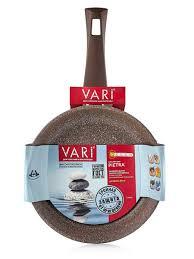 <b>Сковорода</b> литая <b>PIETRA</b>, <b>26 см</b>, теплый гранит <b>Vari</b> 9889721 в ...