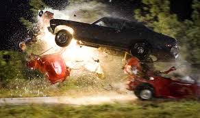 directed viewing the argument for death proof the no one of the more spectacular car crashes