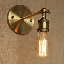 industrial style antique gold metal wall lamp for workroom bathroom vanity lights corridorchina cheap bathroom lighting