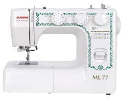 <b>Швейная машина Janome ML77</b> — купить по выгодной цене на ...