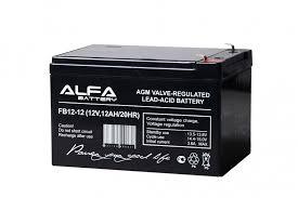 Аккумуляторная батарея <b>ALFA Battery</b> FB12-12 (<b>12V</b>, 12AH/20HR)