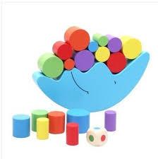 Candywood <b>Wood Moon Balance Game</b> Kids Educational Toys For ...