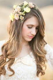 Image result for hairstyles for brides long hair