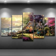 2019 Canvas Wall Art <b>Modular Picture</b> Modern Frame For Living ...