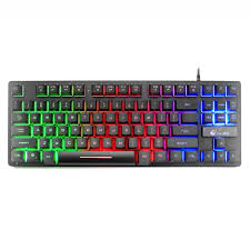 <b>Gaming</b> Keyboard Seven Color <b>Backlit</b> Wired Keyboard Clavier ...