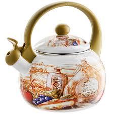 """Чайник 2,5 л со свистком ЕМ-25101/<b>41</b> """"Сицилия"""""""