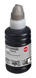<b>Чернила Cactus CS-GI490BK</b> черный100мл для Canon Pixma ...