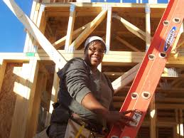 home cheap home affordable housing essays part two mountain looking up mountain housing opportunities homeowner anika ervin takes part in constructing her own home