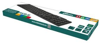 Купить <b>Клавиатура Ritmix RKB-111 Black</b> USB по низкой цене с ...