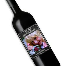 babysitter gift holiday gift christmas gift for a teacher wine bottle label our child might be the reason you drink babysitter gift grandparents