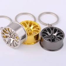 top sale <b>1pc</b> Auto Part Car Wheel Rim Keychain Creative ...