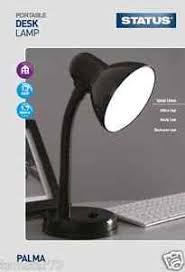 image is loading desk table top lamp student home office study black white home office study