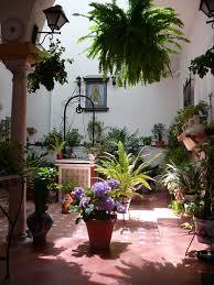 courtyard floral indoor outdoor patio