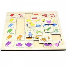 <b>Деревянная игрушка Paremo Игровой</b> набор Ассоциации Цвет ...