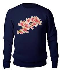 <b>Свитшот унисекс хлопковый</b> Орхидея #2685709 от Лана по цене ...