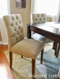 Tufted Leather Dining Room Chairs Chair Design Ceyland Tufted Back Dining Chair