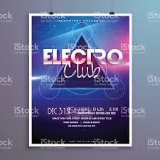 club music party flyer invitation card shiny lights effect club music party flyer invitation card shiny lights effect royalty stock vector art