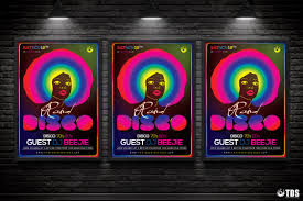 revival flyer template psd design for photoshop v  disco revival flyer template psd design for photoshop v 2