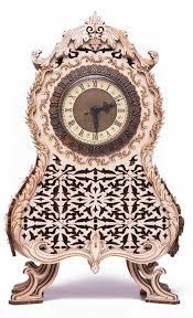Механическая <b>сборная модель Wood</b> Trick Винтажные часы ...