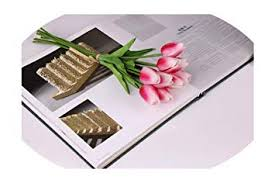 Artificial Fowers <b>10Pcs</b>/<b>Lot</b> Pu Mini <b>Tulips Artificial Flowers</b> Touch ...