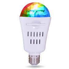 <b>Лампа</b> Диско 4 Вт <b>LED</b> Е27 RGB проекция сменные паттерны <b>REV</b>