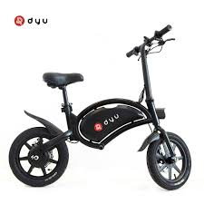<b>DYU D3F Electric</b> Bike: 14 Inch Tires, For Just $398.99 [Coupon Deal]