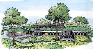Earth House Plan chp  at COOLhouseplans com