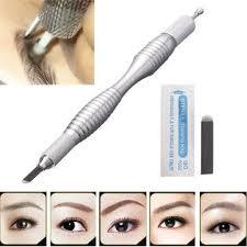 Semi <b>Permanent Makeup</b> Eyebrow Line Tattoo <b>Pen Microblading</b> ...