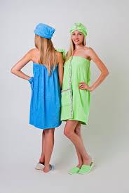Купить <b>женский</b> махровый <b>набор для сауны</b> и бани в интернет ...