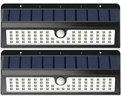 InnoGear <b>Solar Lights 30 LED</b> Wall Light Outdoor Security Lighting ...