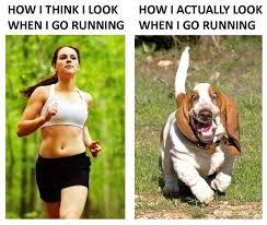 How I think I look running .. | Running Humor | Pinterest via Relatably.com