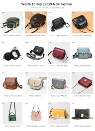 <b>AOEO</b> Sling Shoulder <b>Bags For</b> Women Split Leather Ladies ...